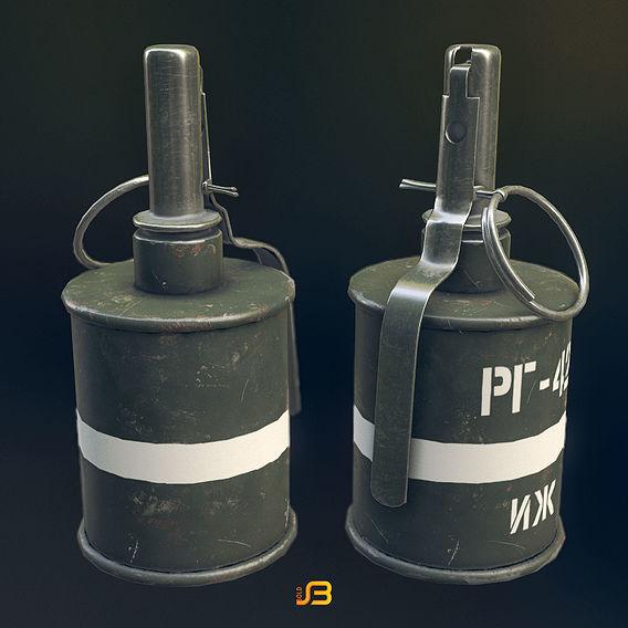 RG 42 Hand Grenade