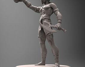 3D model Warrior Zbrush HD