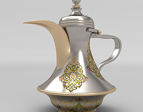 3D asset Arabic Pot-Dalah for Arabian Coffee