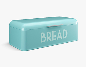 Bread Box 3D model realtime