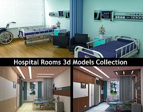 3D model Hospital Patient Rooms hospital-room