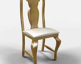 Veracruz Rustic Chair 3D