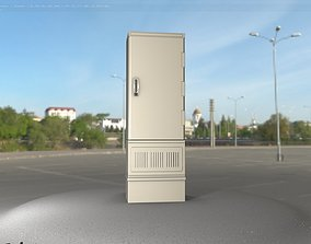 3D asset realtime Electrical Distribution Cabinet 85