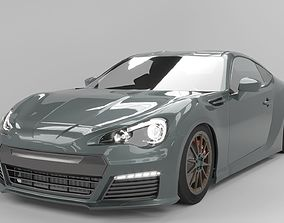 3D model Subaru BRZ