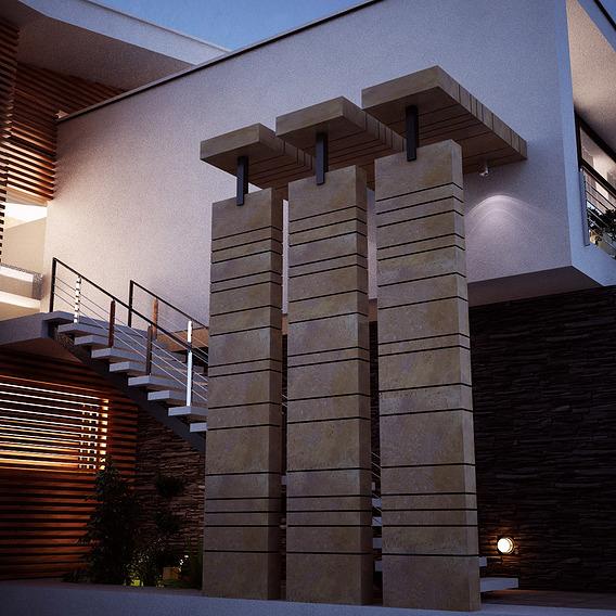 3d Visualisation of villa