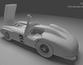 1955 Mercedes Benz 300SLR 3D model