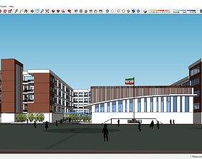 Sketchup school H5 3D