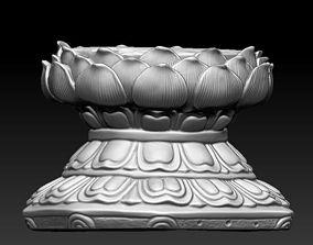 Seat of Buddha 3D model