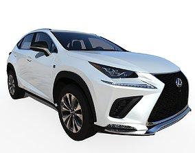 2020 Lexus NX-300 F-Sport 3D
