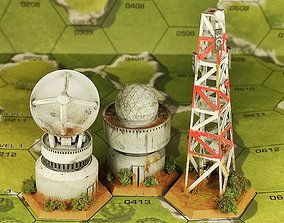 Radar hex 3D printable model