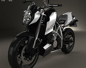 3D model KTM 990 Super Duke R 2014