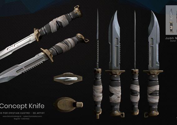 NXA Concept Knife
