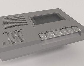 3D model Cassette Tape Recorder