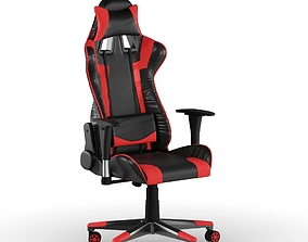 PC Gamer Chair Red 3D