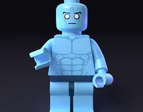 LEGO minifigure - Dr Manhattan - Watchmen 3D