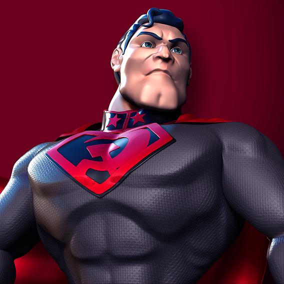 Superman Red Son - fan art