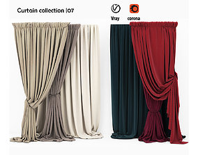 vray 3D Curtain collection 07