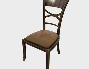 3D model Low Poly PBR Dining Chair