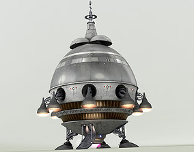 Extra Terrestrial HOME PHONE 1 Starship 3D model