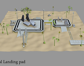 3D model Imperial landing pad