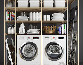 Laundry set 1 3D model