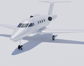 Embraer Phenom 100 3D airplane