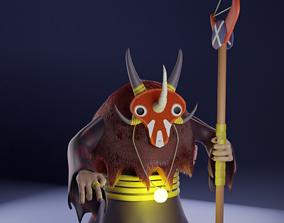 Shaman blender3d 3D model