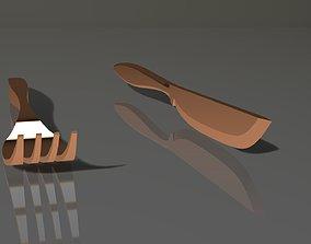 Fork and Knife 3D printable model