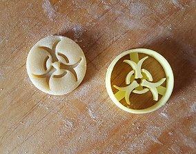 Virus cookie cutter 3D print model