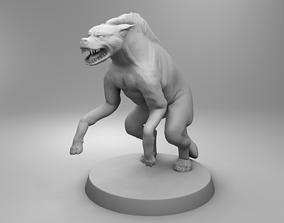 3D print model African hyena