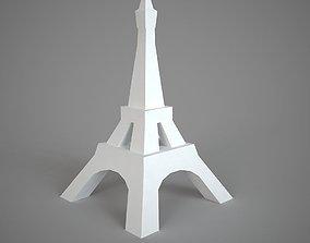 Eiffel Tower 3D asset