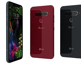 LG G8s ThinQ All Colors 3D model