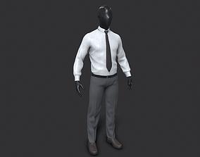 PBR vray Suit 3D Model