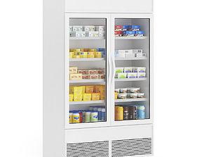 3D model Market Refrigerator 2