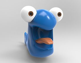 Funny worm 3D printable model