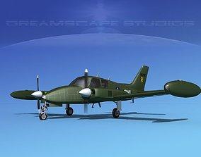 Cessna U-3B Blue Canoe V08 3D
