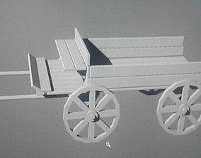 Farming wagon 3D model