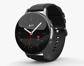 3D Samsung Galaxy Watch Active 2 44mm Stainless Steel