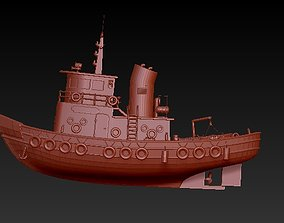 tugboat 3D print model
