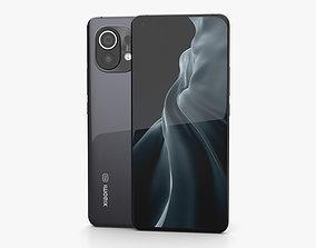 Xiaomi Mi 11 Midnight Gray 3D