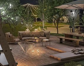 Backyard Sanctuary 3D model