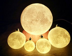 3D print model 8 Inches Progressive Moon Lamp