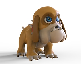 Bulldog Toon 3D model