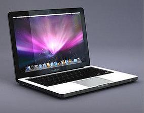 3D Apple Macbook laptop