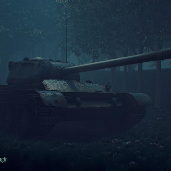 T44 tank