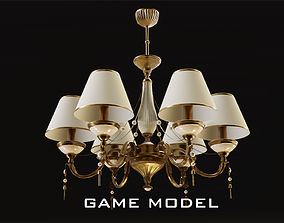Classic Chandelier 3 Game model 3D asset