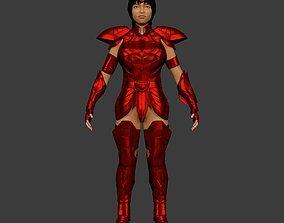 cgtrader Saint Seiya 3D Printable Armor girl 1 AAA