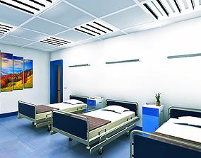 Modular Realistic Hospital 3D asset