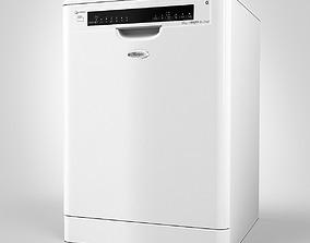 Whirlpool Dishwasher 3D