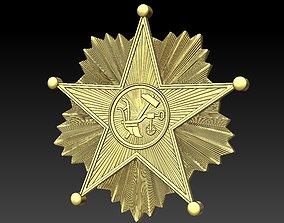 3D printable model Badge Star shield
